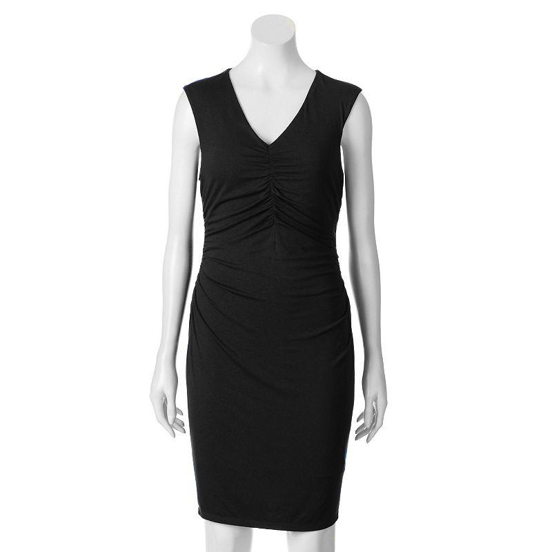 Apt. 9® Shirred Sheath Dress - Women's