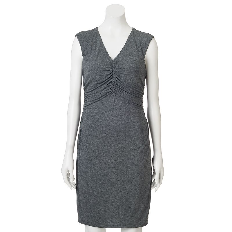 Apt. 9® Shirred Sheath Dress - Women's