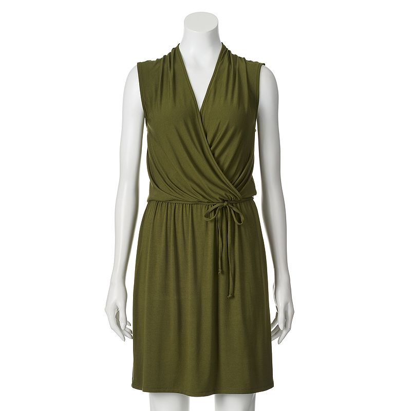 Apt. 9® Faux-Wrap Dress - Women's