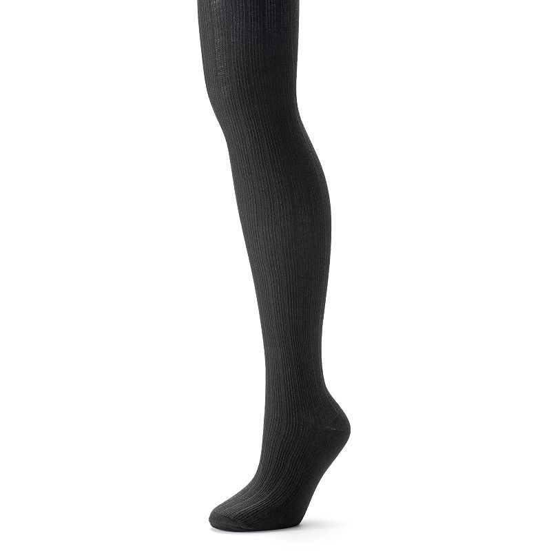 Apt. 9® Wide Ribbed Sweater Tights