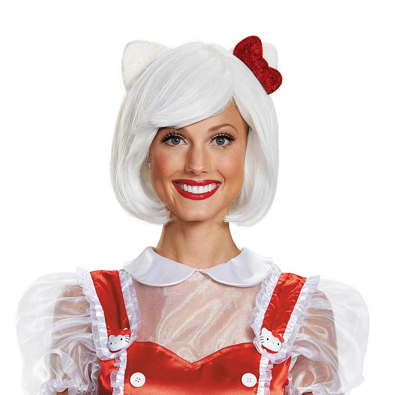 Hello Kitty® Costume Wig - Adult