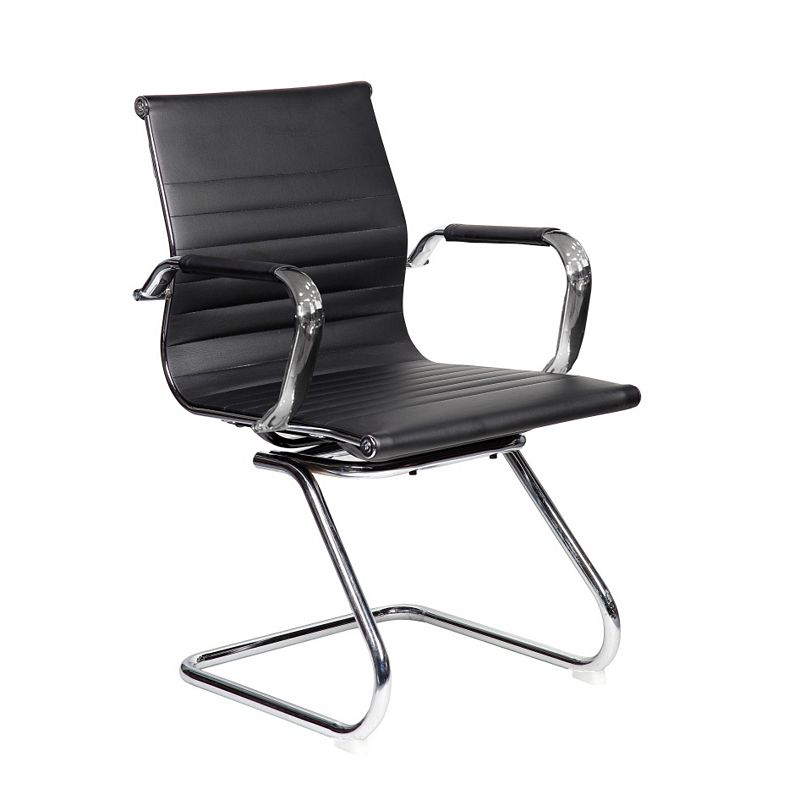 Techni Mobili Modern Chrome Desk Chair