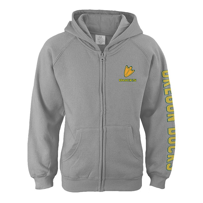 Girls 7-16 Oregon Ducks Campus Pride Full-Zip Hoodie