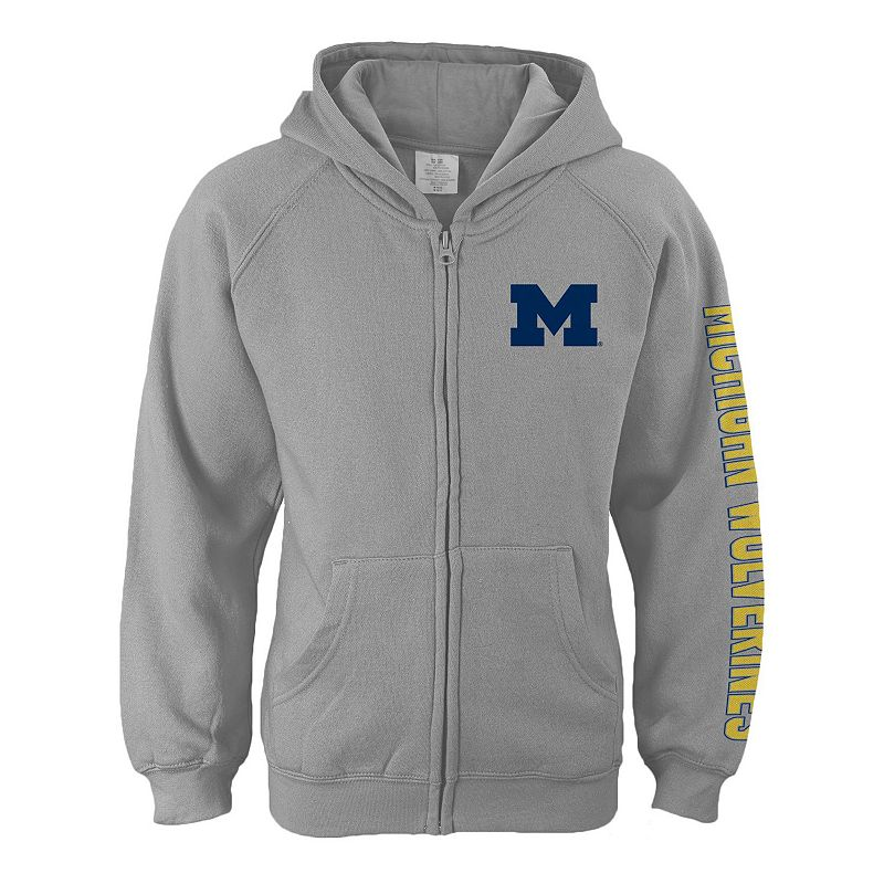 Girls 7-16 Michigan Wolverines Campus Pride Full-Zip Hoodie