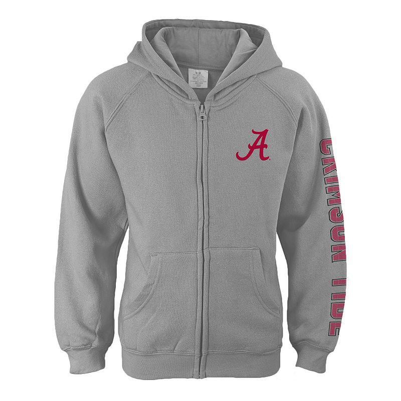 Girls 7-16 Alabama Crimson Tide Campus Pride Full-Zip Hoodie