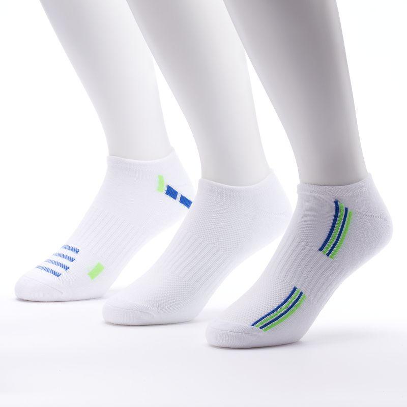 Men's Tek Gear 3-pack Performance No-Show Socks