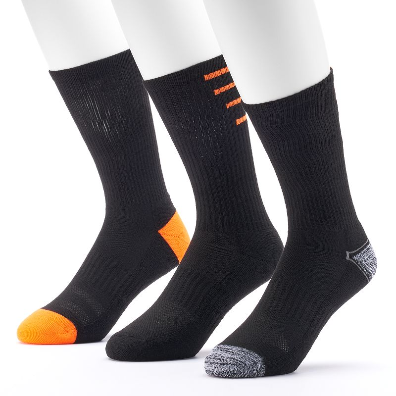 Men's Tek Gear 3-pack Performance Crew Socks