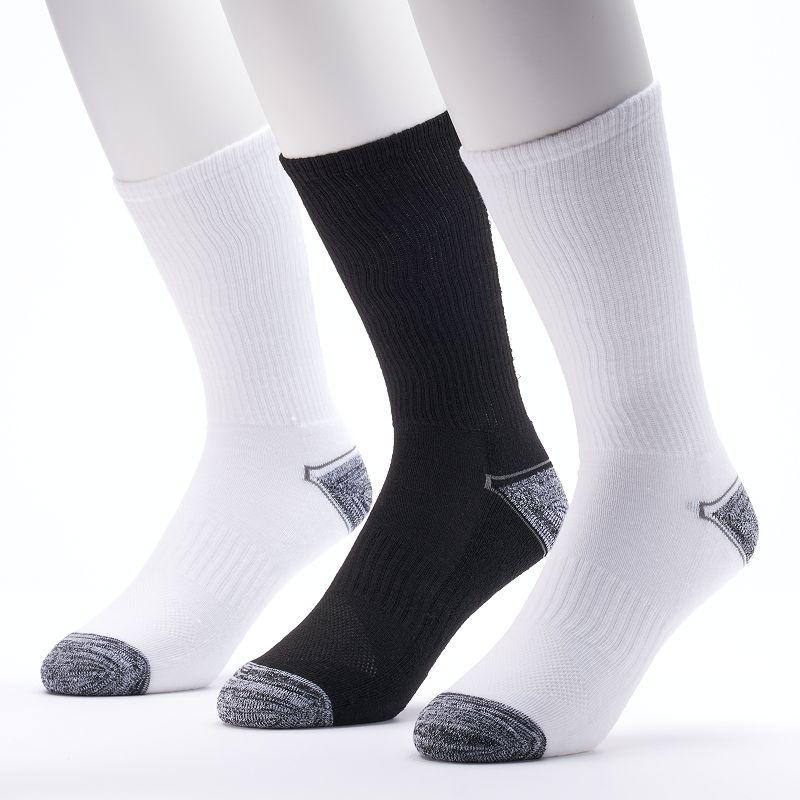 Men's Tek Gear 3-pack Performance Crew Socks