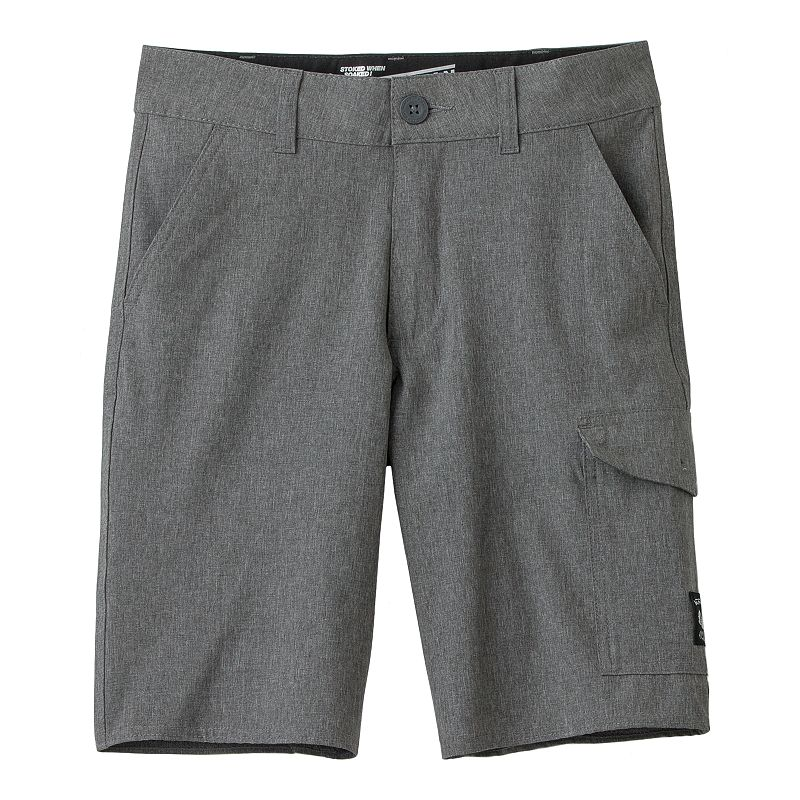 Boys 8-20 Vans Vanphibian Solid Shorts