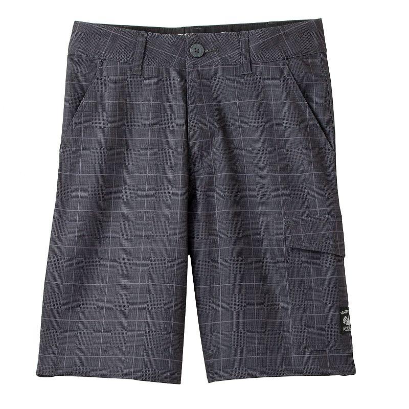 Boys 8-20 Vans Vanphibian Checked Shorts