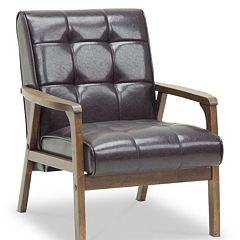 Baxton Studio Mid-Century Masterpieces Club Chair by