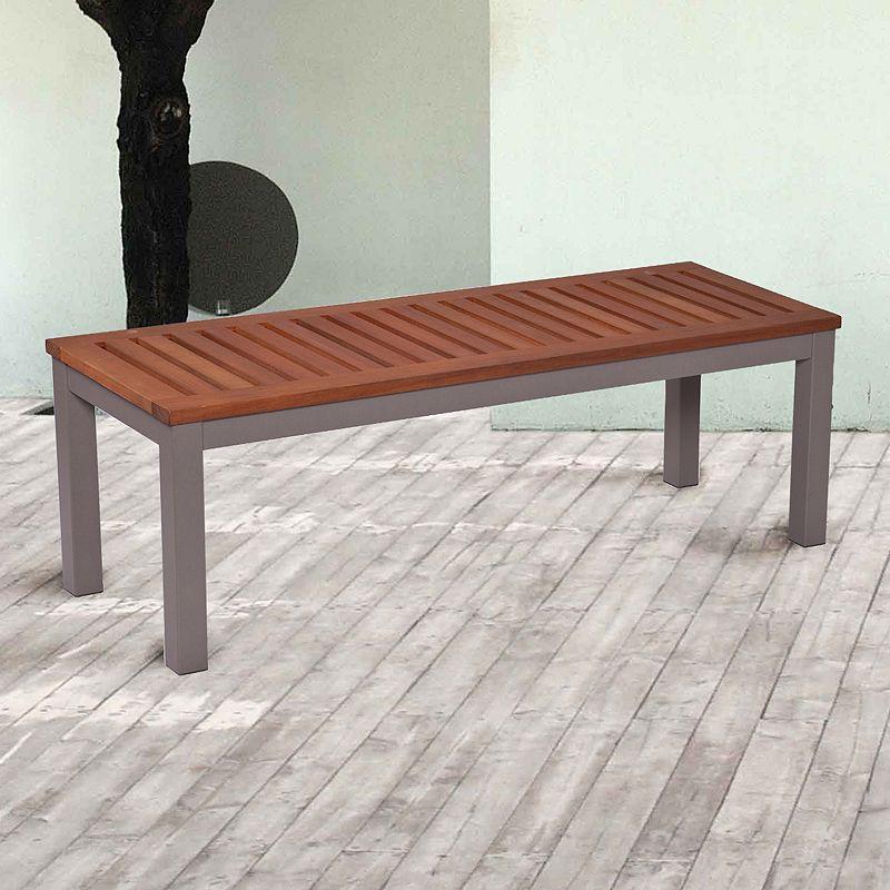 Magar Backless Outdoor Bench