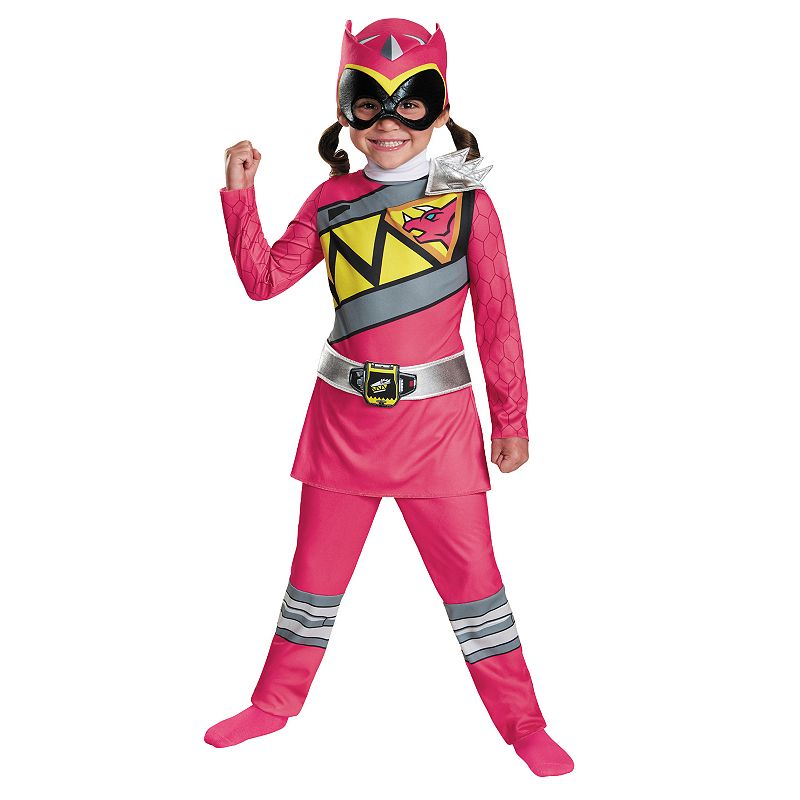 Power Rangers Dino Charge Pink Ranger Costume - Kids
