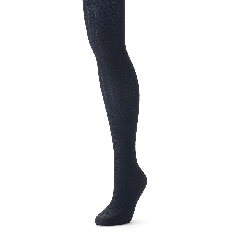 Apt. 9® Textured Chevron Tights