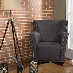 Baxton Studio Acton French Accent Chair  by