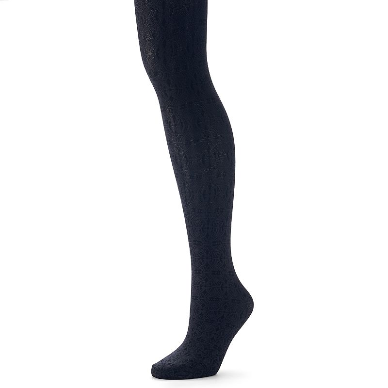 Apt. 9® Intricate Swirl Tights