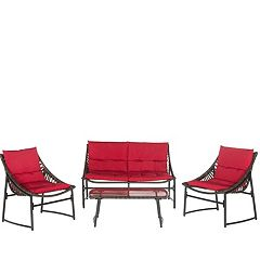 Safavieh Berkane 4-piece Outdoor Furniture Set by