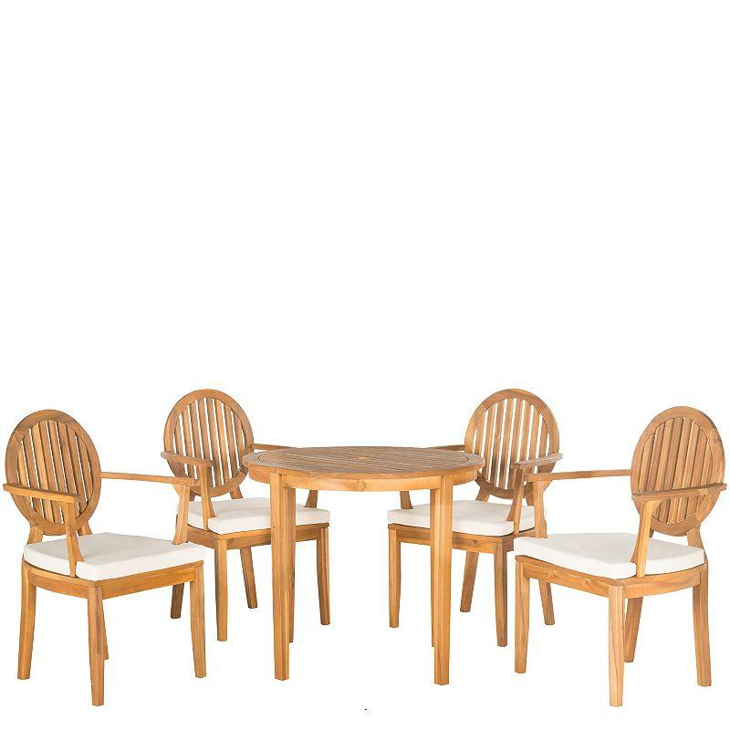 Safavieh Chino 5-piece Outdoor Dining Set