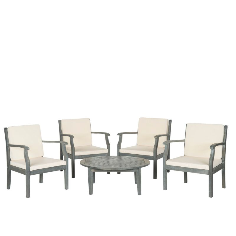 Safavieh Colfax 5 piece Coffee Table Outdoor Set