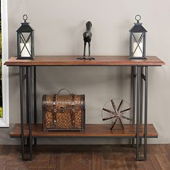 Baxton Studio Newcastle Console Table  by