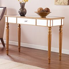 Barlow Mirrored Sofa Table by