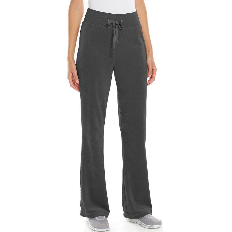 Women's Tek Gear® Fit & Flare Velour Lounge Pants