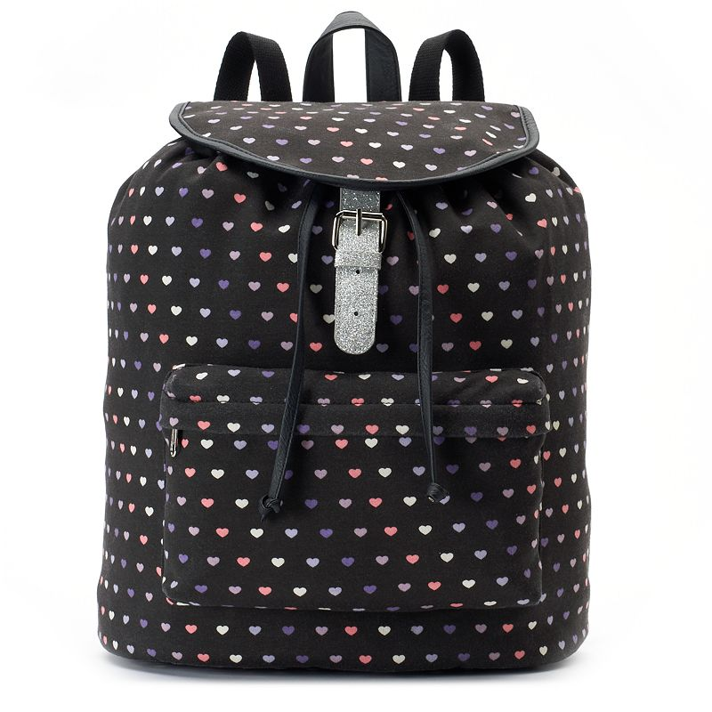 Candie's® Riley Mini Heart Patterned Backpack