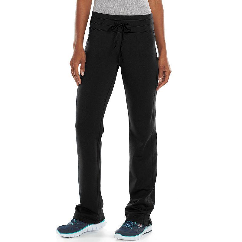 Women's Tek Gear® Straight-Leg Fleece-Lined Workout Pants