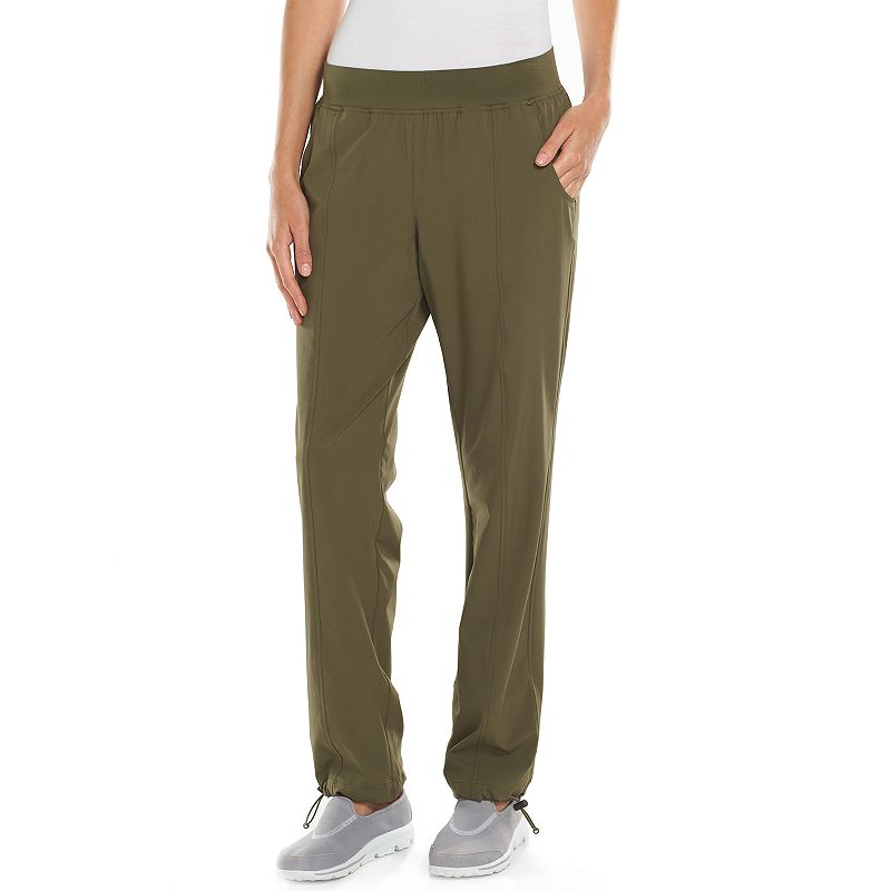 Women's Tek Gear® Lined Woven Convertible Hiking Pants