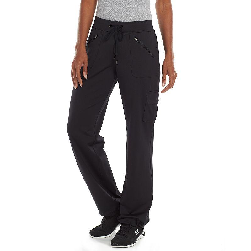 Women's Tek Gear® On the Go Knit Bungee Hem Pants