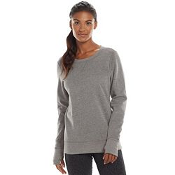 Tek Gear Fleece Crewneck Women's Sweatshirt - Multiple Colors