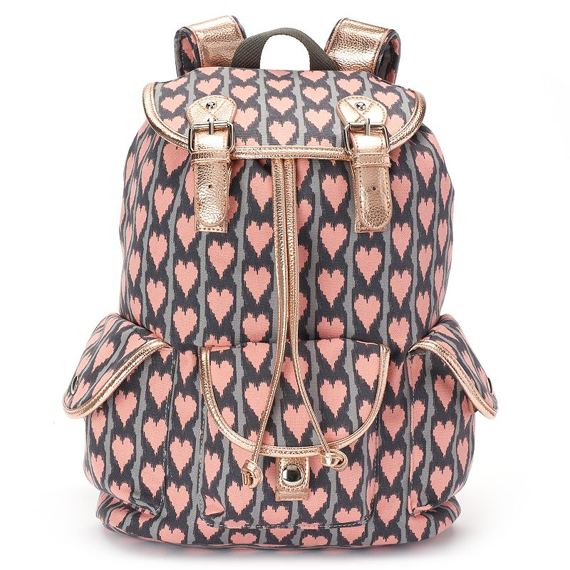 Candie's® Madison Heart Print Backpack