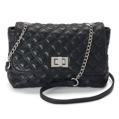 Candie's® Ruby Quilted Mini Crossbody Bag
