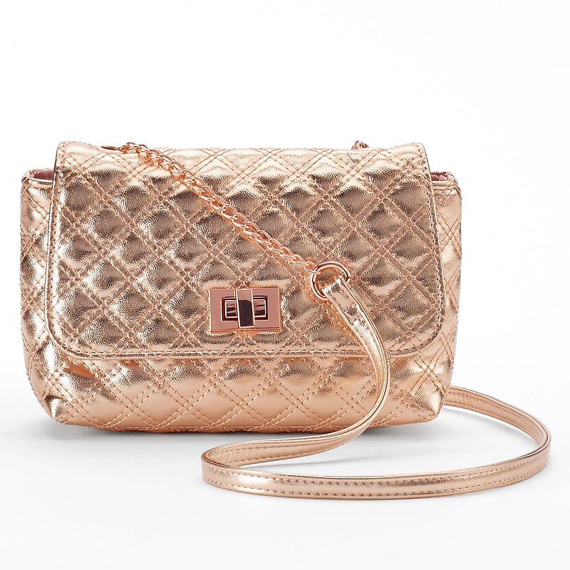 Candie's® Ruby Quilted Crossbody Bag