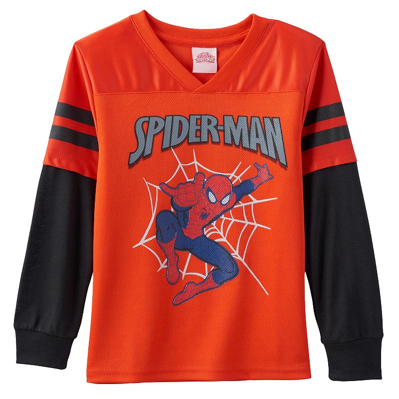 Marvel Ultimate Spider-Man Graphic Football Jersey - Boys 4-7