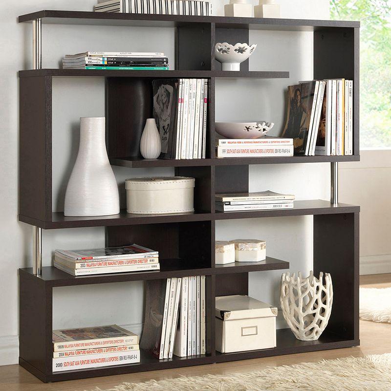 Baxton Studio Medium Kessler Bookshelf