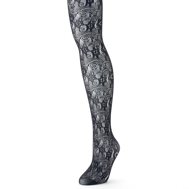 Apt. 9® Floral Net Tights