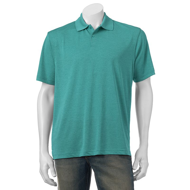 Men's Haggar® Solid Quick-Dry Easy-Care Performance Polo