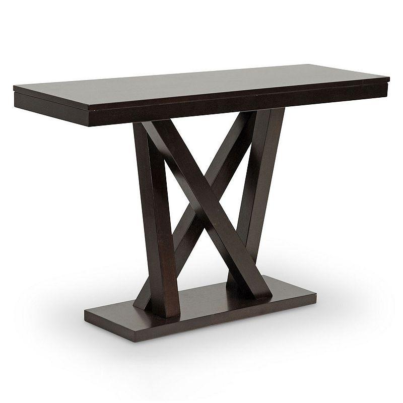 Baxton Studio Everdon Sofa Table