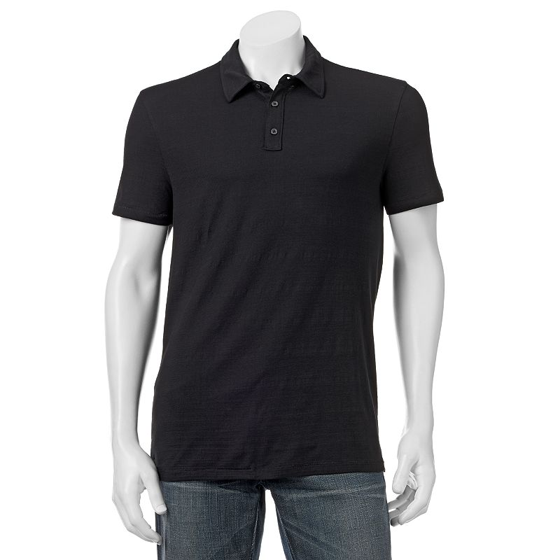 Big & Tall Marc Anthony Slim-Fit Slubbed Polo