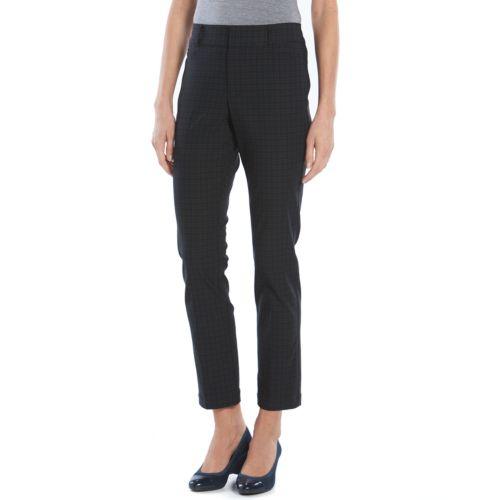 Gloria Vanderbilt Charlene Straight-Leg Twill Pants - Women's