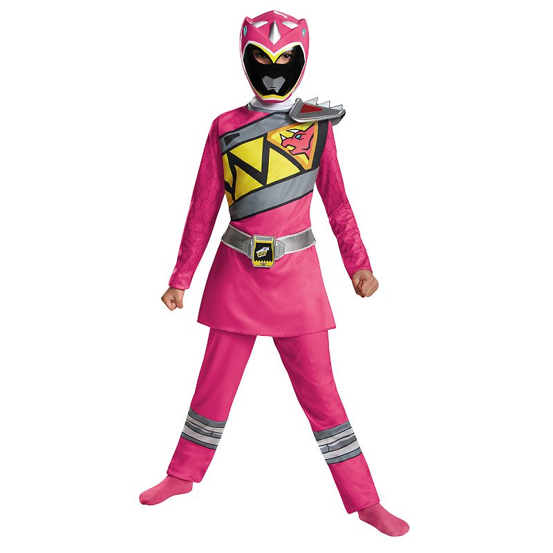 Power Rangers Dino Charge Pink Ranger Deluxe Costume - Kids