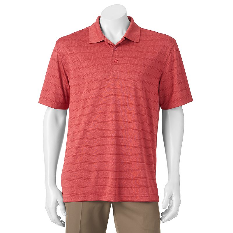 Men's Haggar Cool 18 Striped Performance Polo