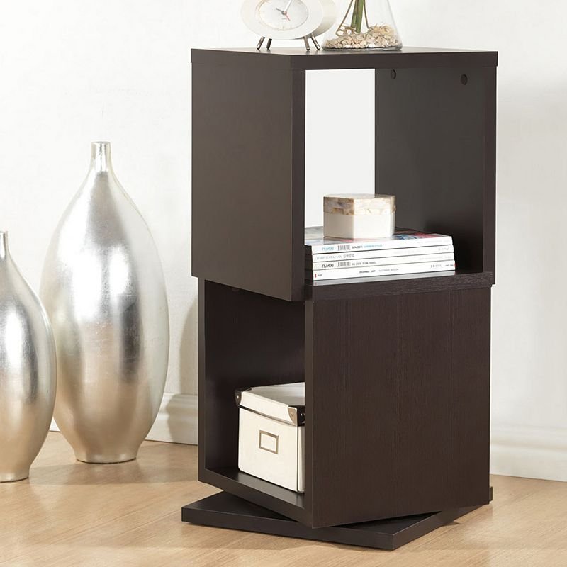 Baxton Studio Ogden Designer 2-Shelf Bookcase