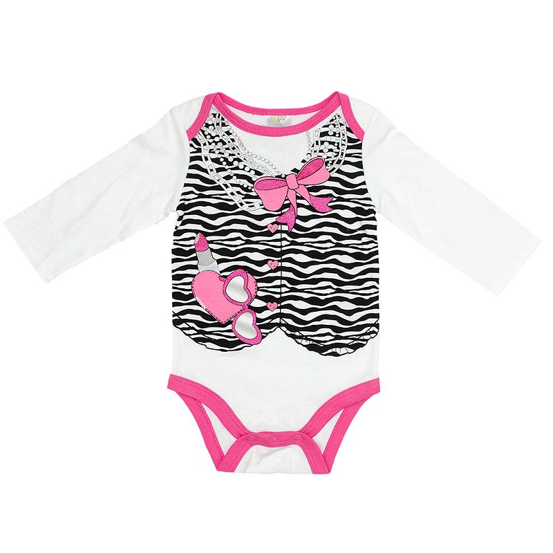 Baby Gear Dressed Up Bodysuit - Baby Girl