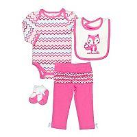 Baby Gear Animal Bodysuit Set - Baby Girl
