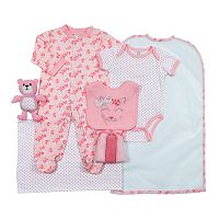 Baby Girl Cutie Pie 9-pc. Bodysuit & Accessories Set