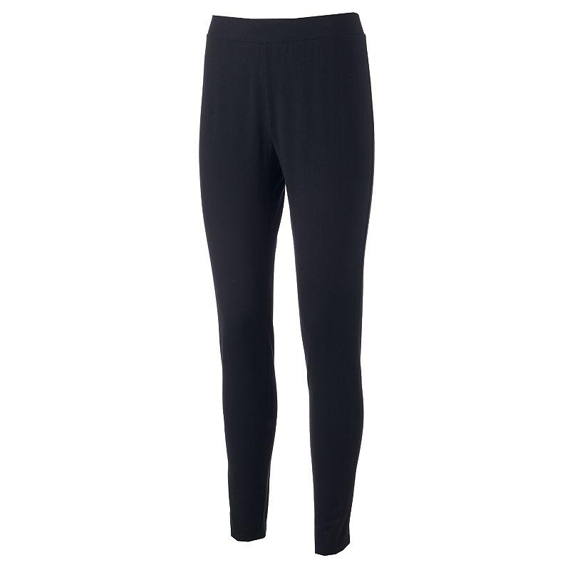 Croft & Barrow® Solid Leggings - Women's