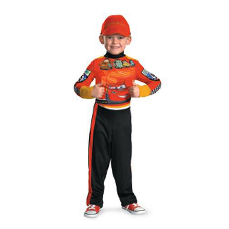 Disney / Pixar Cars Lightning McQueen Pit Crew Cars Costume - Kids