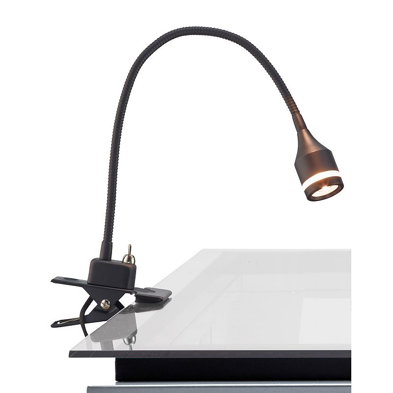 Adesso Prospect LED Clip Desk Lamp